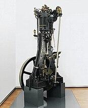 First diesel engine