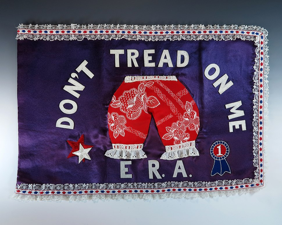 First Lady Betty Ford%E2%80%99s %E2%80%9CBloomer Flag%E2%80%9D.jpg