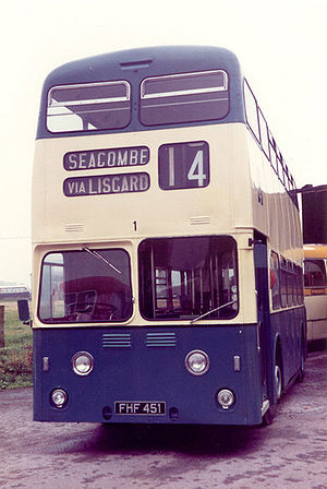 Leyland Atlantean - The first production Atlantean of Wallasey Corporation