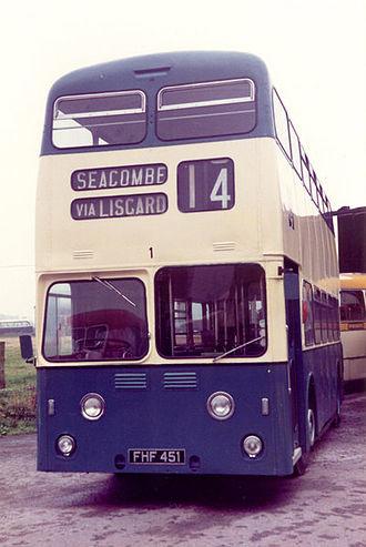Leyland Atlantean - The first production Atlantean of Wallasey Corporation