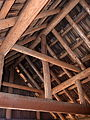 Fish Lake Shelter roof interior 1 - Rogue River NF Oregon.jpg