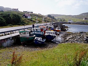 Fishing boats at Bagh Shiarabhagh - geograph.org.uk - 16197.jpg