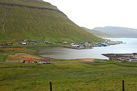 Fjord Kollafjørður, Faroe Islands.JPG