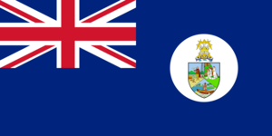 West Indies Federation - Image: Flag of St. Christopher Nevis Anguilla, 1958 1967