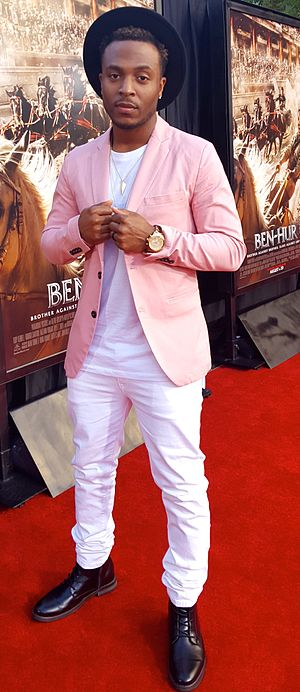 Flame (rapper) - Red Carpet Premiere, Hollywood
