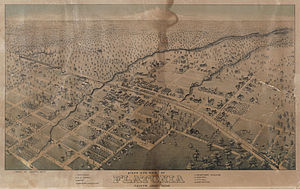 Flatonia, Texas - Flatonia in 1881