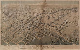 Flatonia, Texas - Flatonia in 1881