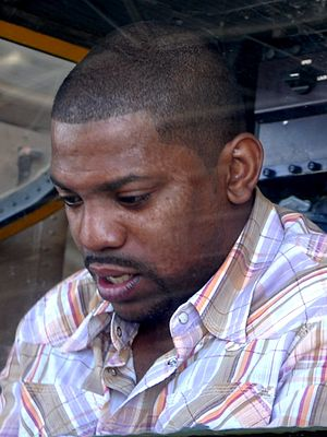 Mekhi Phifer - Phifer in a Cobra helicopter at the Palmachim Airbase in May 2012