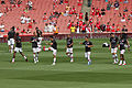 Flickr - Ronnie Macdonald - Arsenal Warm Up 1.jpg