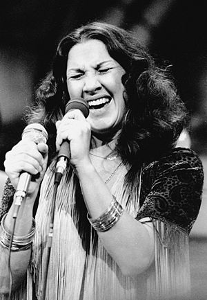 Flora Purim - Purim performing in Saratoga California, 1981.