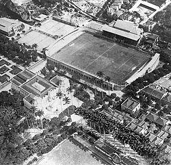 Estádio das Laranjeiras in 1919.