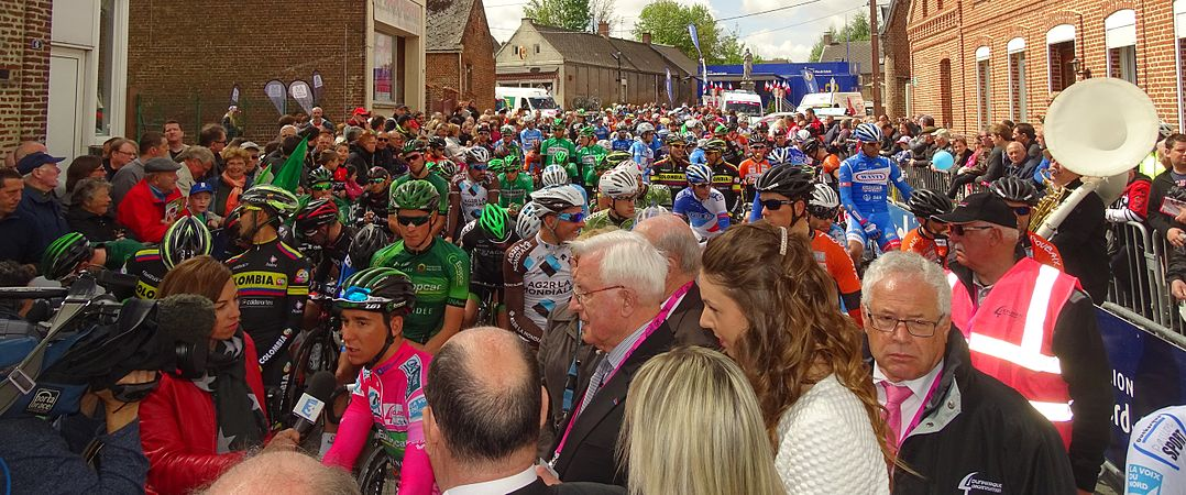 Fontaine-au-Pire - Quatre jours de Dunkerque, étape 2, 7 mai 2015, départ (C13).JPG
