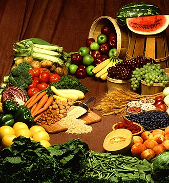 Foods from plant sources Foods (cropped).jpg