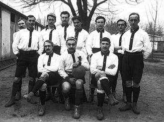 FC Lyon - Photo of FC Lyon in 1906.