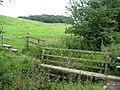 Footbridge over Crickle Beck - geograph.org.uk - 491670.jpg