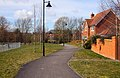 Footpath to the Health Centre - geograph.org.uk - 1770965.jpg