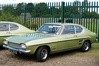 "Ford Capri - 1969 Ford Capri 1600 ""Mark 1"""