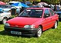 Ford Escort 1392cc registered September 1992.jpg