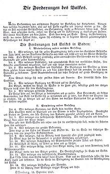 Offenburger Versammlung 1847 – Wikipedia
