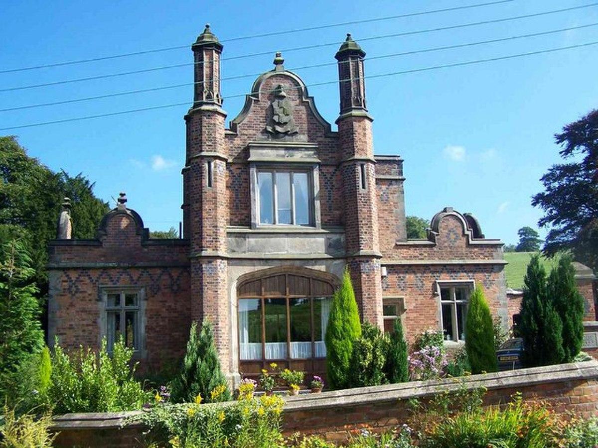 Former Gate House For Dilhorne Hall - geograph.org.uk - 534245.jpg