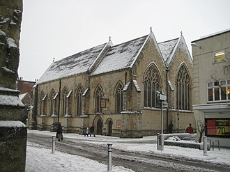 Joseph Butler (architect) - The former church of St Peter the Great.