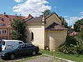 Former funeral home of the Roch cemetery in Eger, 2016 Hungary.jpg