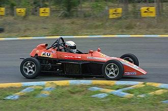 Formula LGB Swift - Formula LGB Swift single seater racing car of Mohammed Aaqib at Kari Motor Speedway track in Coimbatore