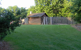 Sycamore Shoals - The reconstructed Fort Watauga