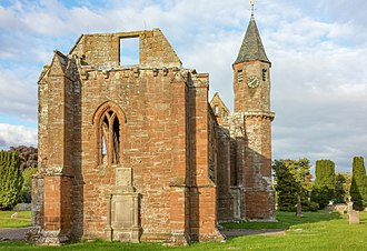 Fortrose Cathedral - The cathedral from the west
