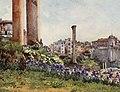Forum Romanum by Alberto Pisa (1905).jpg