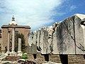Forum portico of gaius + lucius, inscription.jpg