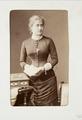 Fotografiporträtt på Elisabeth von der Lühe - Hallwylska museet - 107789.tif