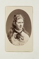 Fotografiporträtt på Louise Wallis - Hallwylska museet - 107746.tif