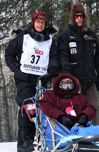 Martin Buser - Martin Buser during the ceremonial start of the 2010 Iditarod.