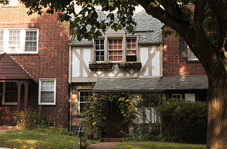 Foxhall (Washington, D.C.) - Tudor-Style Row Houses in Foxhall