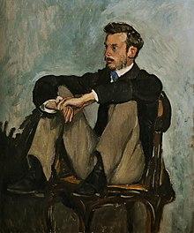 eff8fc6bcc9d Frédéric Bazille, Ritratto di Pierre-Auguste Renoir (1867); olio su tela,  62 × 51 cm, Musée Fabre, Montpellier. Per l'analisi di questo ritratto si  rimanda ...