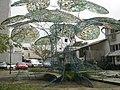 Fréderic Keiff, L'Arbre à Palabres, Installation 2007 10.JPG