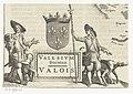 Fragment van kaart van de Franse provincie Valois Valesium Ducatus Valois (titel op object), RP-P-1937-113.jpg