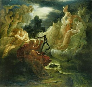 Oisín figure in Irish mythology