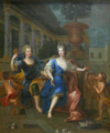 Françoise Marie de Bourbon and her brother the Count of Toulouse.png