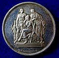 France, The Three Graces Silver Prize Medal 1833 (ND) by Eduard Gatteaux, obverse.jpg
