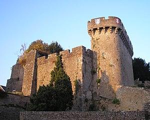 Le château d'Avranches.