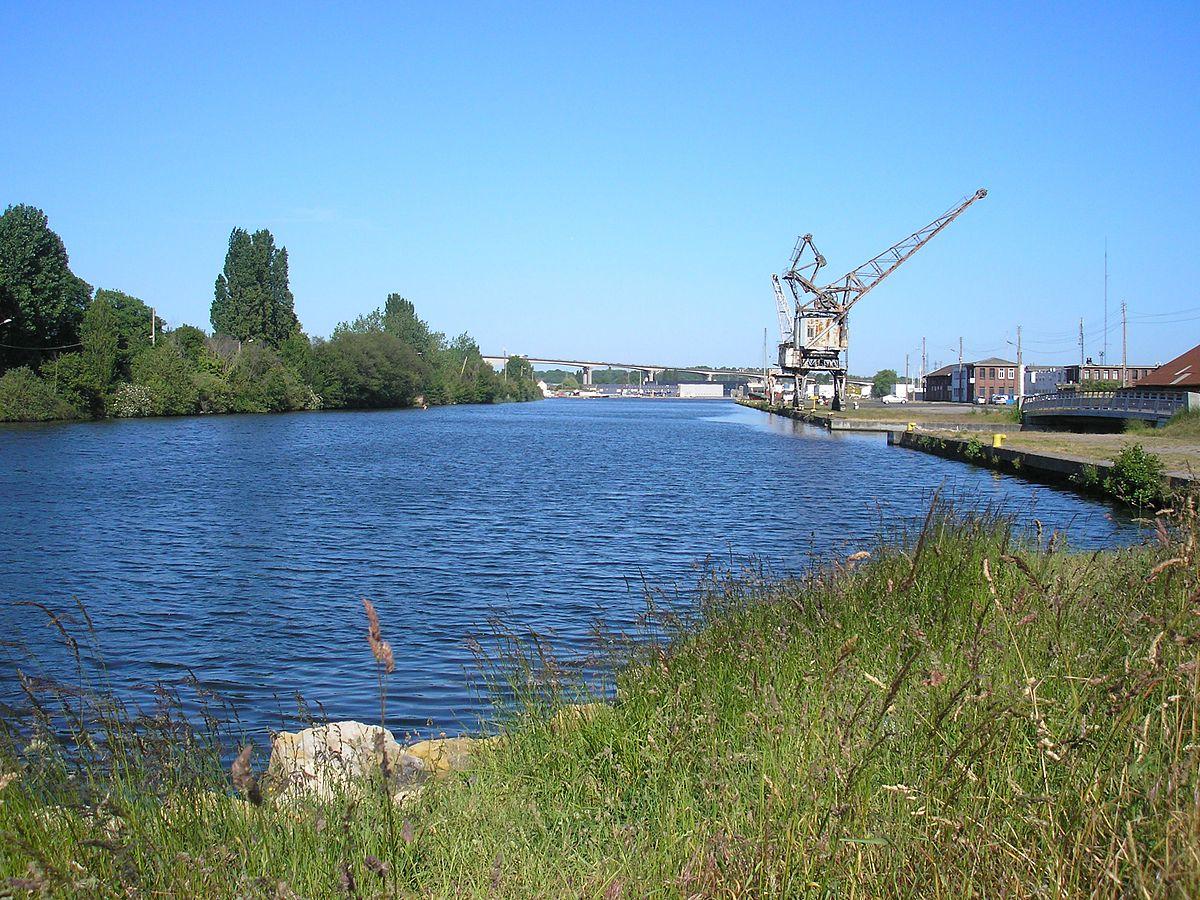 Canal de caen la mer wikipedia for Caen la mer piscine