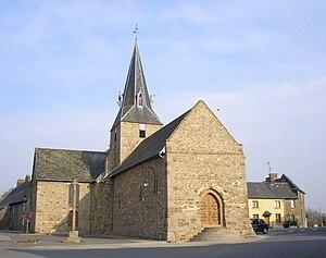 L'église Saint-Cyr-Sainte-Juliette (16e/18e siècle).