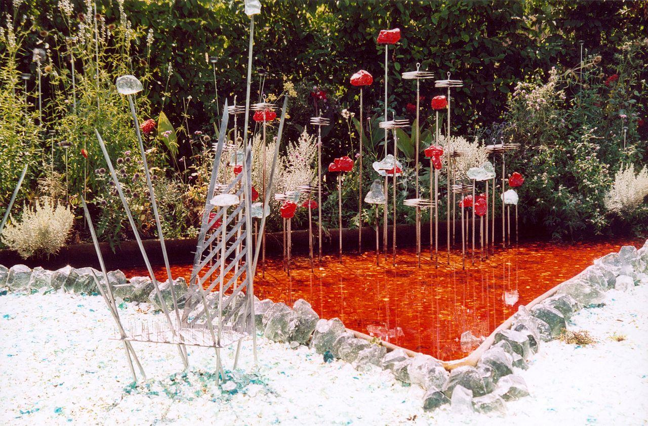 file france loir et cher festival jardins chaumont sur loire 2003 jardin du fakir. Black Bedroom Furniture Sets. Home Design Ideas