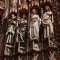 France Strasbourg Cathedral Wise virgins and Christ.jpg
