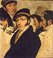 Francesco Hayez - Self Portrait in a Group of Friend - Google Art Project.jpg