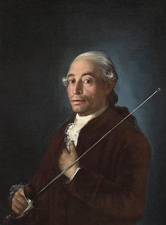 Francesco Sabatini - Francesco Sabatini by Goya, c. 1775-79.