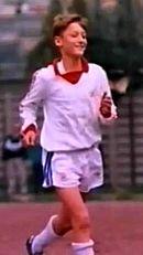 Totti con la divisa dei Giovanissimi della Lodigiani nel 1989
