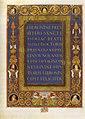 Francesco rosselli e bottega, bibbia ms urb lat 1 f 1v incipit, biblioteca ap vaticana.jpg